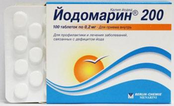 Когда и как назначают йодомарин при гипотиреозе житовидки
