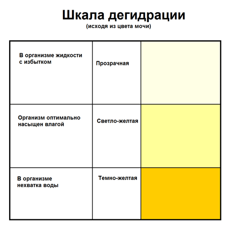 Моча при беременности ярко желтого цвета