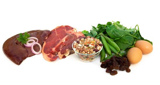 Дефицит железа является наиболее распространенным нарушением питания