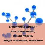 Норма и отклонения содержания С-пептид в анализе крови